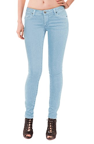 HyBrid & Company Womens Super Comfy Stretch Denim 5 Pocket Jean P22883SK LightDenim 3