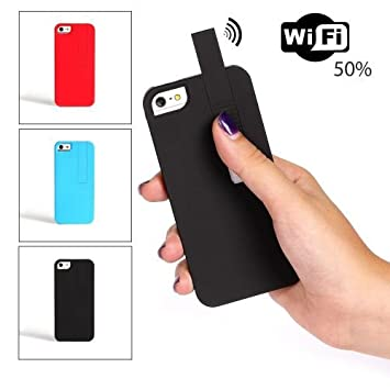 Funda amplificador de señal WIFI -iPhone 5- Negro