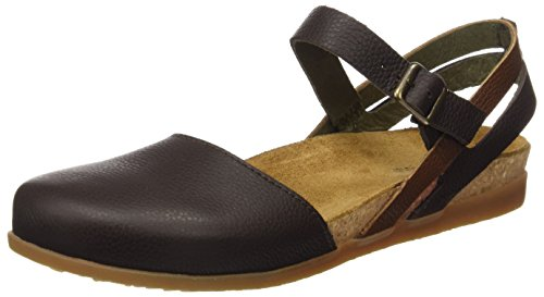 Sandali Zumaia Marrone Mixed Soft Naturalista Nf41 brown El toe Donna Grain Closed RwXfBZq