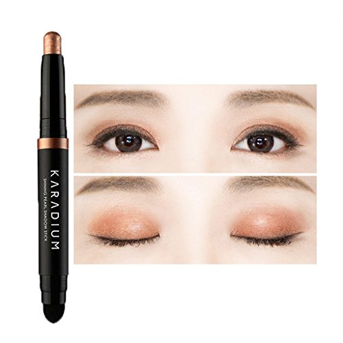 KARADIUM Shining Pearl Smudging Eye Shadow Stick, 1.4 g, #7 Daily Brown