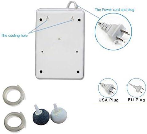 Monland Tragbar Aktiver Ozon Generator Sterilisator Luft Reiniger Reinigung Frucht Gem/üse Wasser Nahrungsmittel Zubereitung Ozonator Ionizator Ac220V Es Stecker