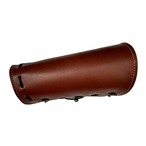 Nachvorn Shooting Archery Arm Guard #170402B ,Brown,8.6 inch