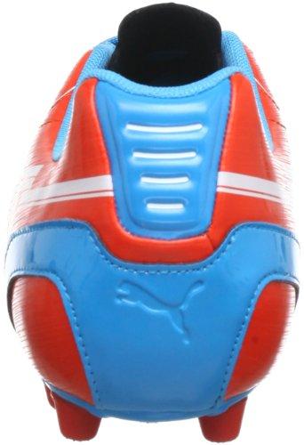 Puma evoSPEED 5 AG - Zapatos de fútbol de material sintético hombre rojo - Rot (orange.com-white-hawaiian 06)