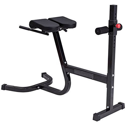 Black Steel-Foam Abdominal Trainer With Ebook by MRT SUPPLY