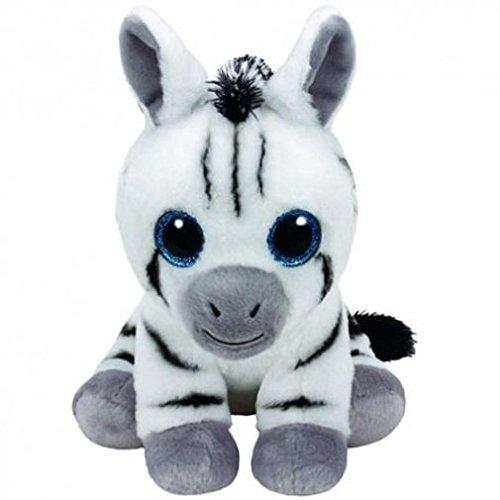 TY Beanie Babies STRIPES - zebra med Plush (Zebra Baby Beanie)