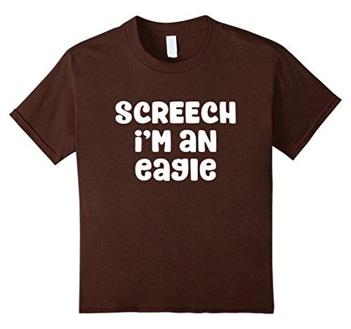 Kids Screech I'm An Eagle Costume Halloween T-Shirt 12 (Screech Halloween Costume)