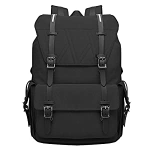 LUXUR 37L Laptop Backpack Business Computer knapsack Oxford Tactical Weekend Bag