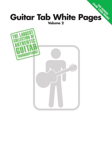 (Guitar Tab White Pages, Volume 2)
