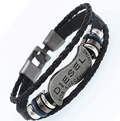bracelet femme rock cuir