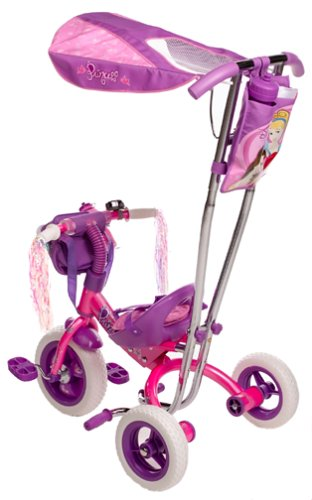 Amazon Disney Princess Huffy Canopy Trike Tricycles Sports Outdoors