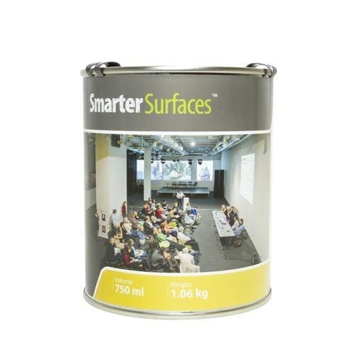 Smart Projector Paint 6m² / 65ft² - Projectable Wall - Projector Screen Paint White - Gain Value 1.0 - Viewing Angle 140°