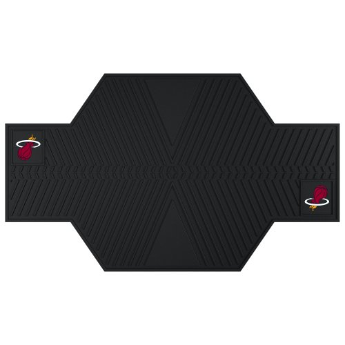 Fan Mats 15383 NBA Miami Heat Motorcycle Mat