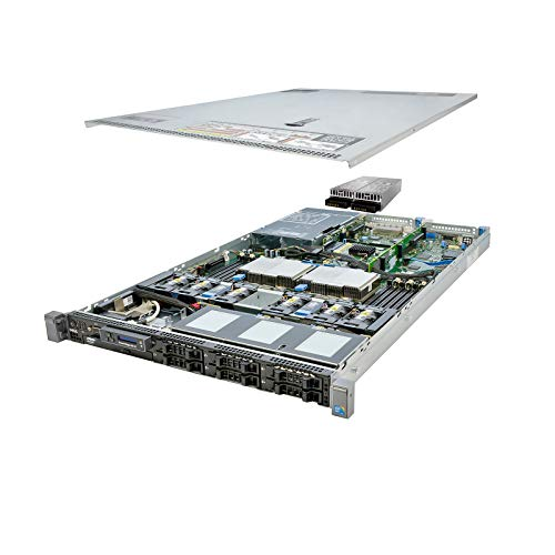 Energy-Efficient Dell PowerEdge R610 Server 2 x 2.26Ghz L5520 QC 48GB 2x160GB SSD (Renewed)