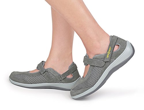 Shoes Gray Jane Chattanooga Orthofeet Comfortable Mary Diabetic Arthritis Orthopedic Womens OwxU7vCq