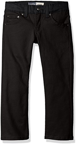 Signature by Levi Strauss & Co. Gold Label Big Boys' Straight Fit Jeans, Gothic -