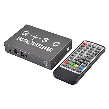 eDealMax Universal del automóvil del coche antena Dual móvil ATSC-T TV Digital Receptor Set