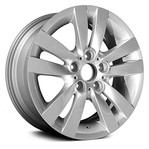 Replacement Alloy Wheel Rim 17x8.5 5 Lugs 36116775600 Fits BMW 3-Series: Convertible/Coupe/Sedan