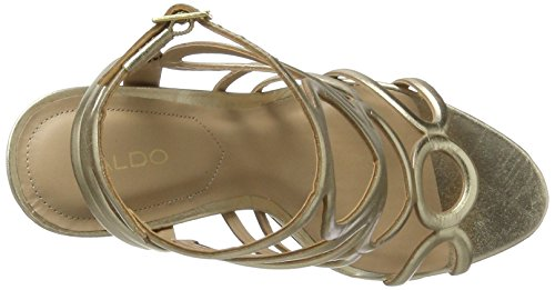 Aldo Women's Rovinosa Ankle Strap Sandals Gold (Gold) SRT4nmGGT