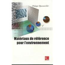 Materiaux de Reference Pour l'Environnement