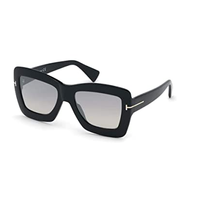 Gafas de Sol Tom Ford HUTTON-02 FT 0664 Shiny Black/Grey ...