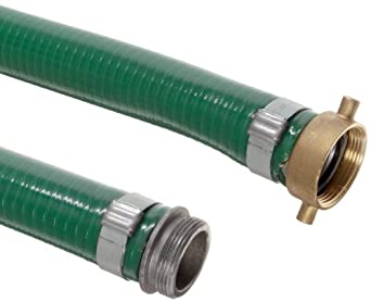 Unisource 1510 PVC Suction/Discharge Hose Assembly, MPT x NPSM Female Swivel Connection
