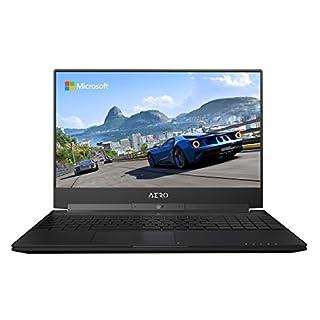 "GIGABYTE Aero 15W v8-BK4 15"" Ultra Slim Gaming Laptop 144Hz FHD X-Rite i7-8750H, GeForce GTX 1060, 16G RAM, 512GB SSD, Metal Chassis, RGB Keyboard (B07CD9VVVZ) | Amazon Products"