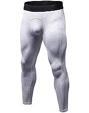 Bmeigo Mannen Workout Legging 3D Running Gym Exercise Compression Tights Sport broek
