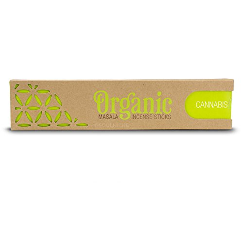 Song of India Cannabis Organic Goodness Masala Incense Sticks ()