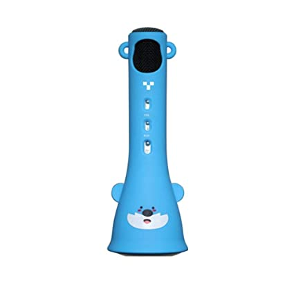 H Micrófono de Karaoke inalámbrico para niños, Karaoke portátil de Mano Mic Home