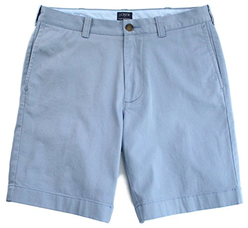 """J.Crew - Men's - 9"""" Broken-in Chino Shorts (Multiple Size/Color Options) (32, Aluminum Blue) from J.Crew"""