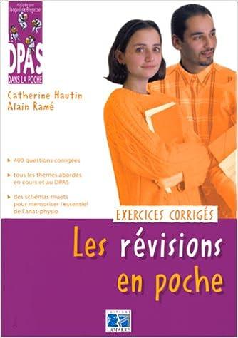 Télécharger en ligne LES REVISIONS EN POCHE. : Exercices corrigés pdf