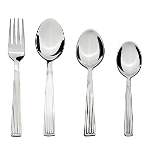 Solimo 24 Piece Stainless Steel Cutlery Set