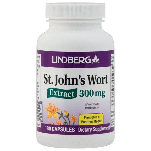 Lindberg St. John's Wort Extract 300 Mg, 180 Capsules - Standardized to ()