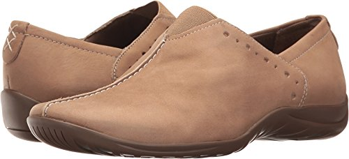 Walking Cradles Womens Adria Driving Style Loafer Light Taupe Roughout 3B6jMx8O