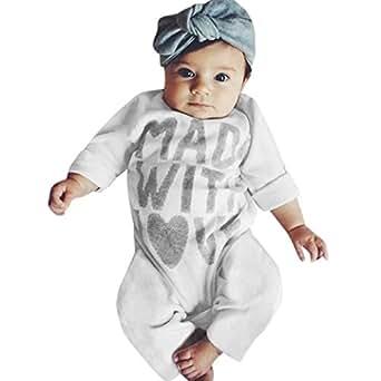31e7c8b6277d Amazon.com  Digood Toddler Newborn Baby Kids Girls Boys Letter ...