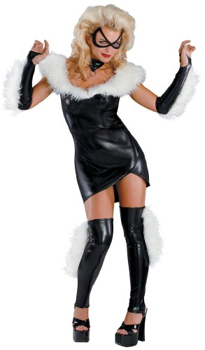 Marvel Black Cat Sexy Prestige Adult Costume (Black Cat Costume Marvel)