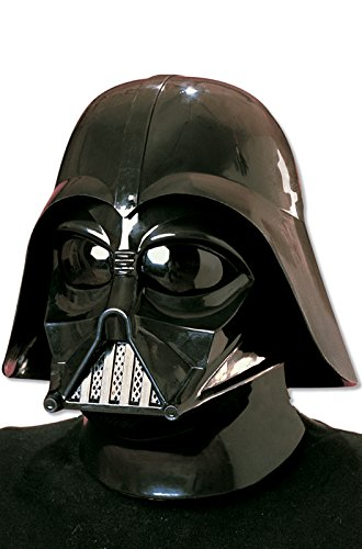 Star Wars Darth Vader Deluxe Adult Full Face Mask, Black, One -