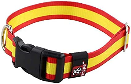 Arppe 196122545561 Collar Nylon Bandera: Amazon.es: Productos para ...