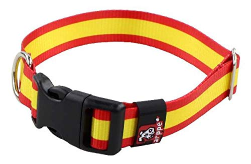 Collar de Perro Bandera de España