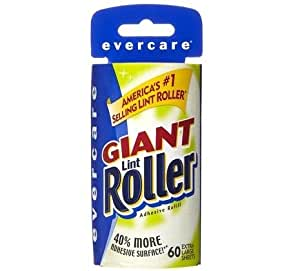 how to change evercare lint roller