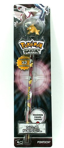 Pokemon Diamond & Pearl: Pokemon Figure Topper No.2 Pencil - -