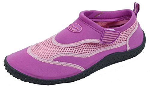Women's Velcro Shoes Slip with On Purple Strap starbay Water wxRfqAfv