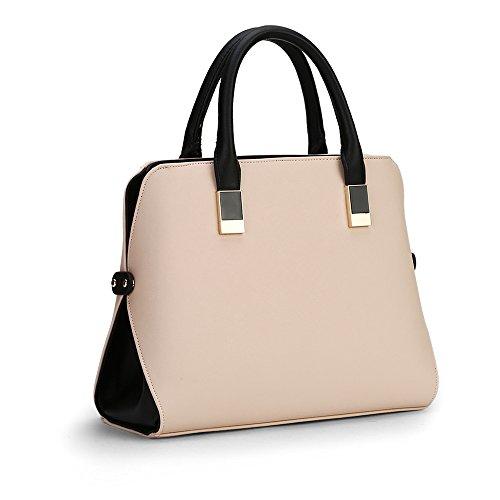 White Satchel Handbags - 8