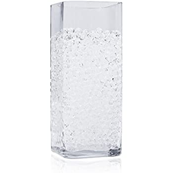 Amazon 16000 Floral Water Pearls Clear Vases And
