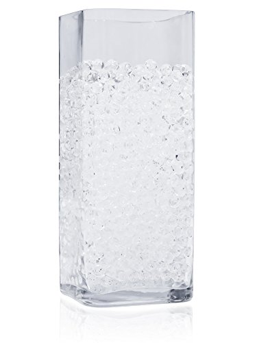 16,000 Floral Water Pearls - CLEAR - Vases and Centerpieces for Wedding beads - makes 12 gallons of water (Bulk Glass Vases)