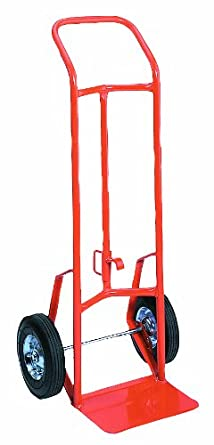 """Wesco 210349 156DH Drum and Hand Truck, Moldon Rubber Wheels, 800-lb. Load Capacity, 48"""" Height, 17.5"""" Length x 20.5"""" Width"""
