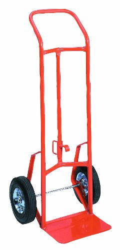 Wesco 210349 156DH Drum and Hand Truck, Moldon Rubber Wheels, 800-lb. Load Capacity, 48'' Height, 17.5'' Length x 20.5'' Width by Wesco