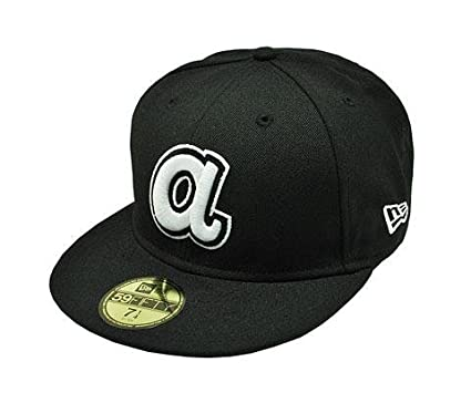 cheaper a1eea 6d4d9 New Era 59fifty Fitted Cap Mlb Baseball Atlanta Braves Headwear Cooperstown   quot A quot  Hat