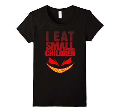 Womens I Eat Small Children Pregnancy T Shirt Large -