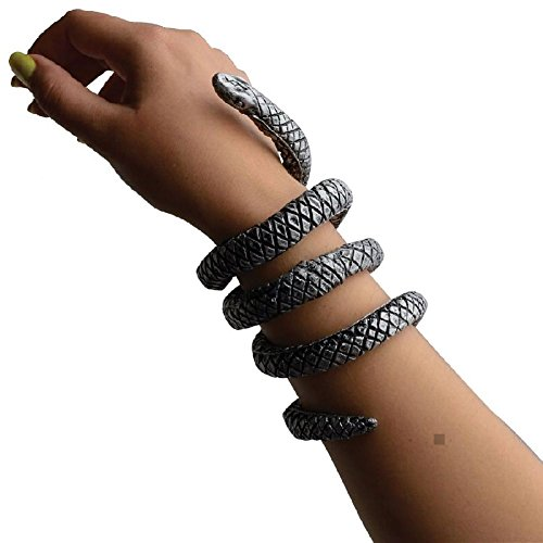 Snake Charmer Woman Costume (Snake Bracelet Adult/Teen Cleopatra Costume Accessory Fancy Dress)